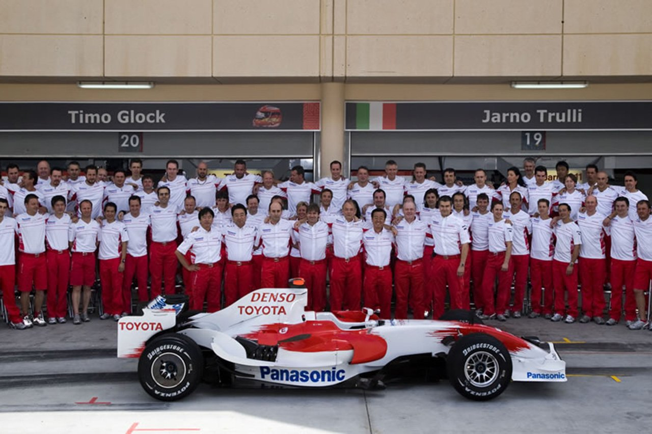 F1チーム列伝:パナソニック・トヨタ・レーシングの歴史
