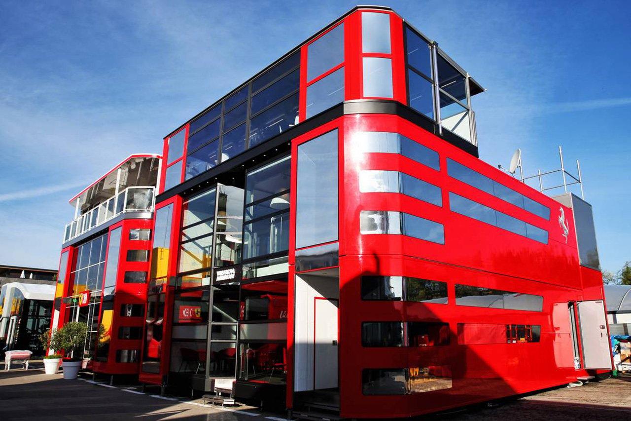 F1:新型コロナウイルス危機を機にモーターホームが消滅?