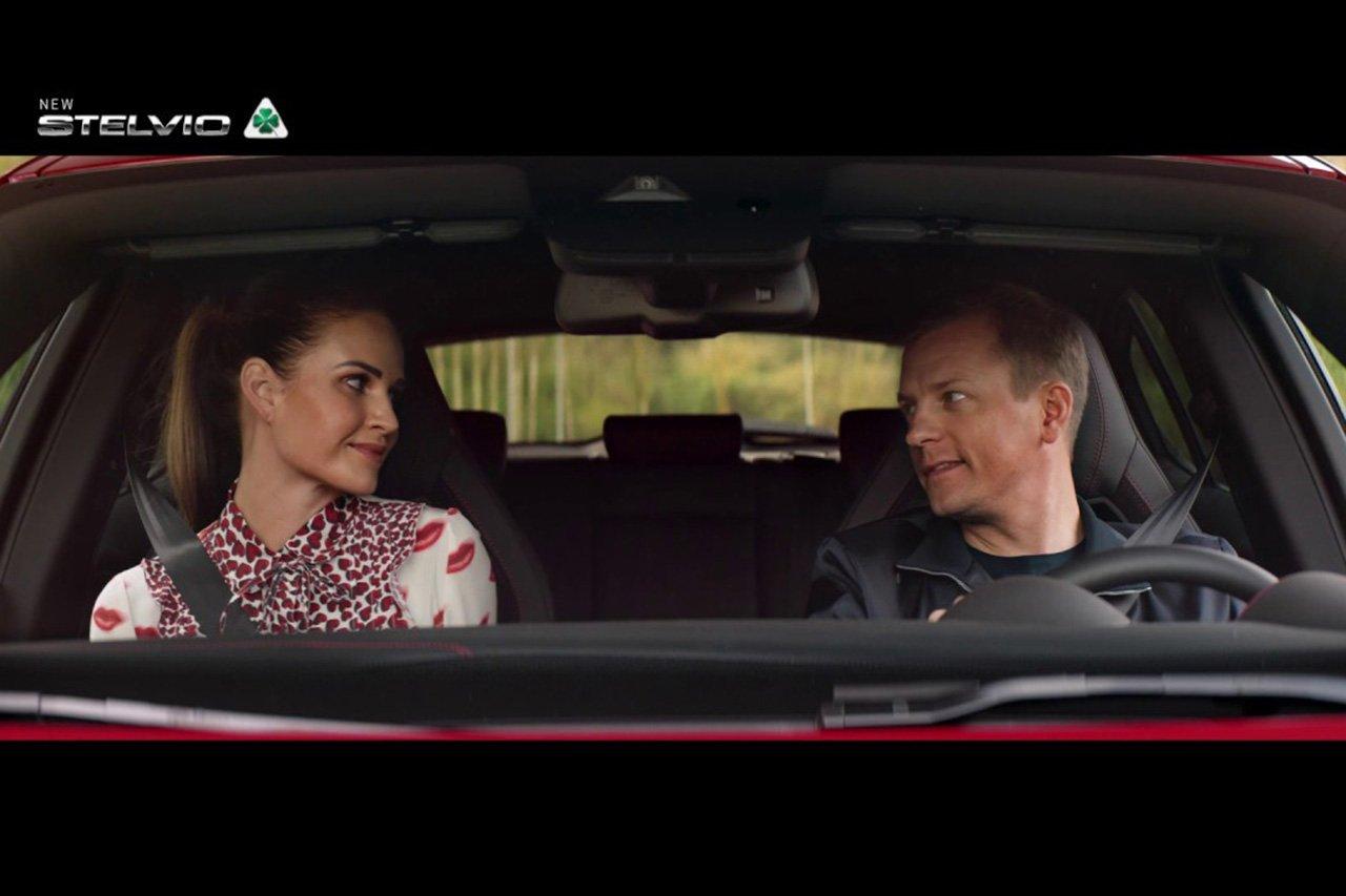 【動画】 キミ・ライコネン、アルファロメオのCMで夫婦共演