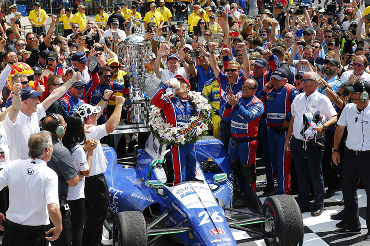 佐藤琢磨が優勝したインディカーの全5レースをGAORAが再放送