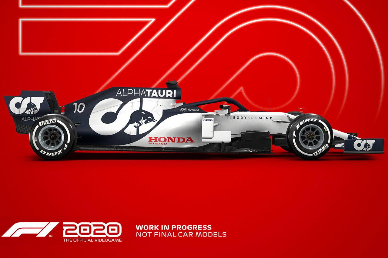 F1公式ゲーム『F1 2020』:コードマスターズが解説する最新作の違い
