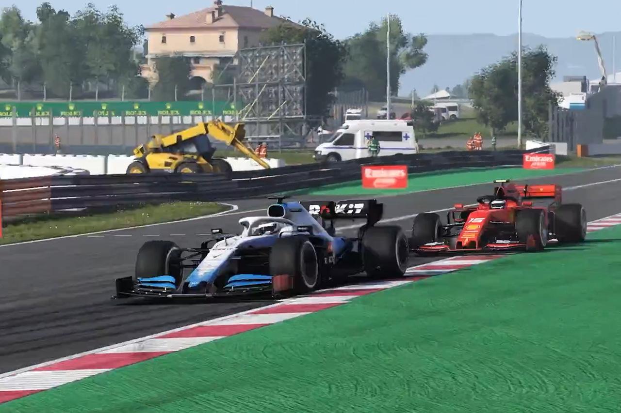 【動画】 F1バーチャルGP 第5戦 スペイン 決勝ハイライト