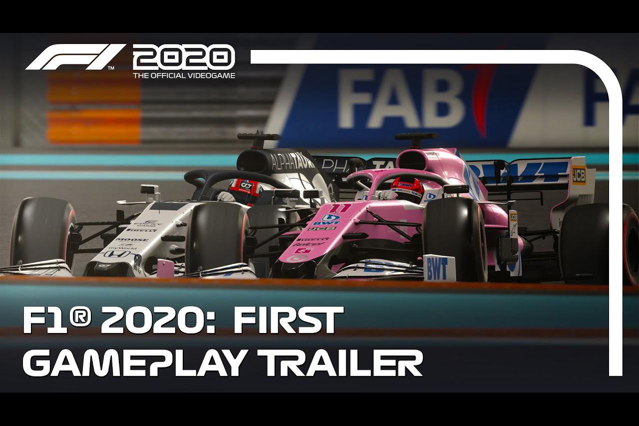 F1公式ゲーム『F1 2020』 ゲームプレイトレイラー映像を公開