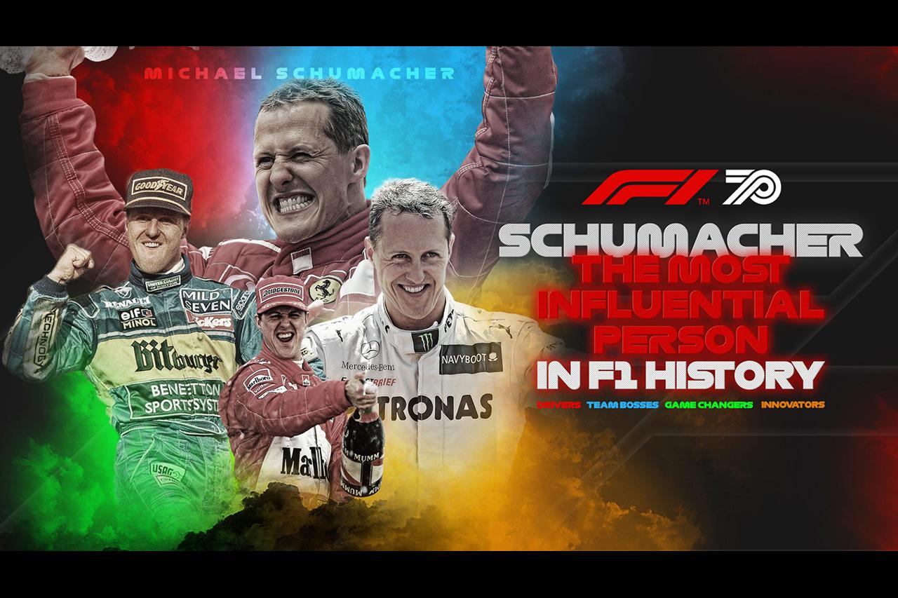 """ミハエル・シューマッハ、F1史上""""最も影響力ある人物""""に選出"""