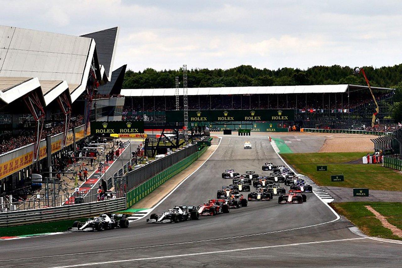 F1:シルバーストーン、無観客でのF1イギリスGPのダブル開催に合意