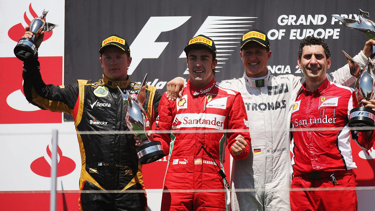 2012年 F1ヨーロッパGP