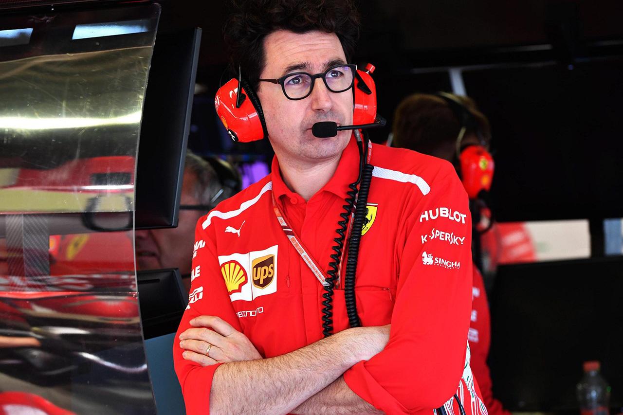 「マッティア・ビノットはフェラーリF1をまとめられる器ではない」とバーニー・エクレストン