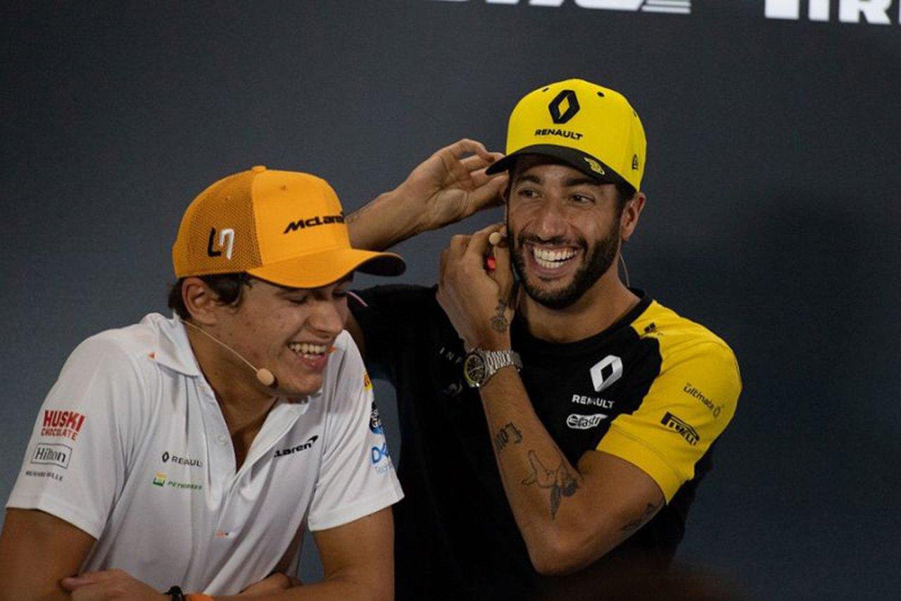 マクラーレンF1 「ダニエル・リカルドはF1ワールドチャンピオン候補」