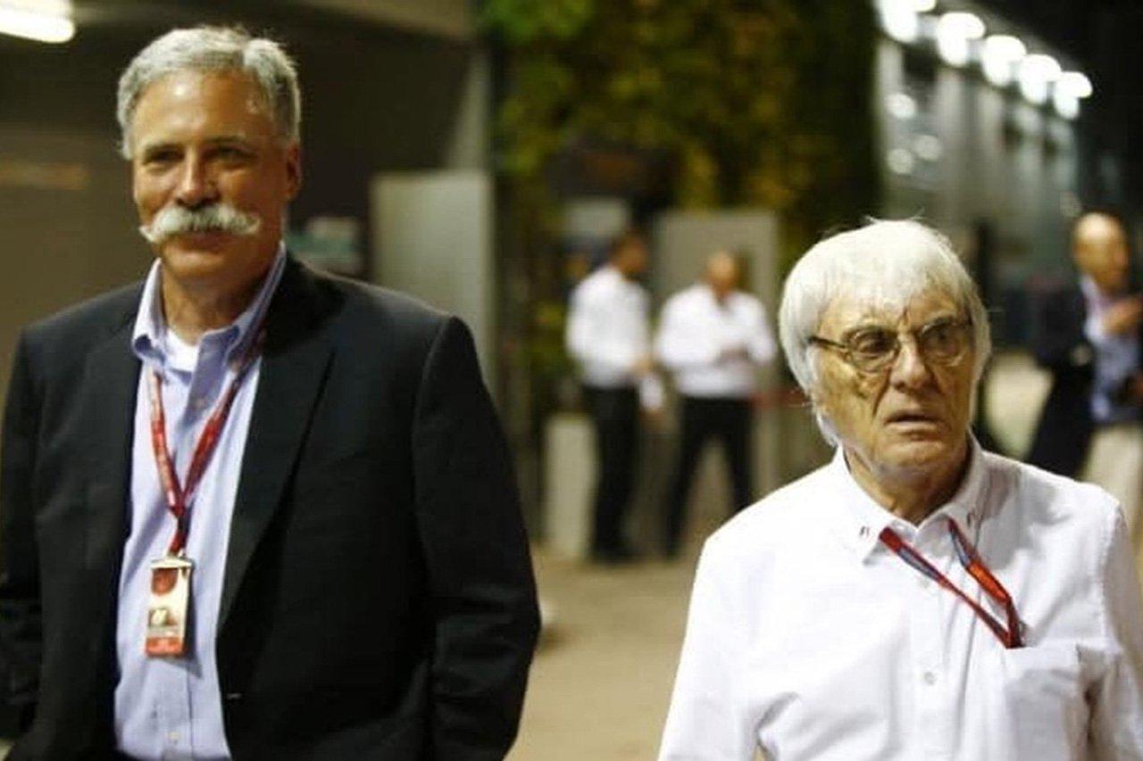 F1:バーニー・エクレストン、リバティ・メディアを批判「ロゴを変えただけ」