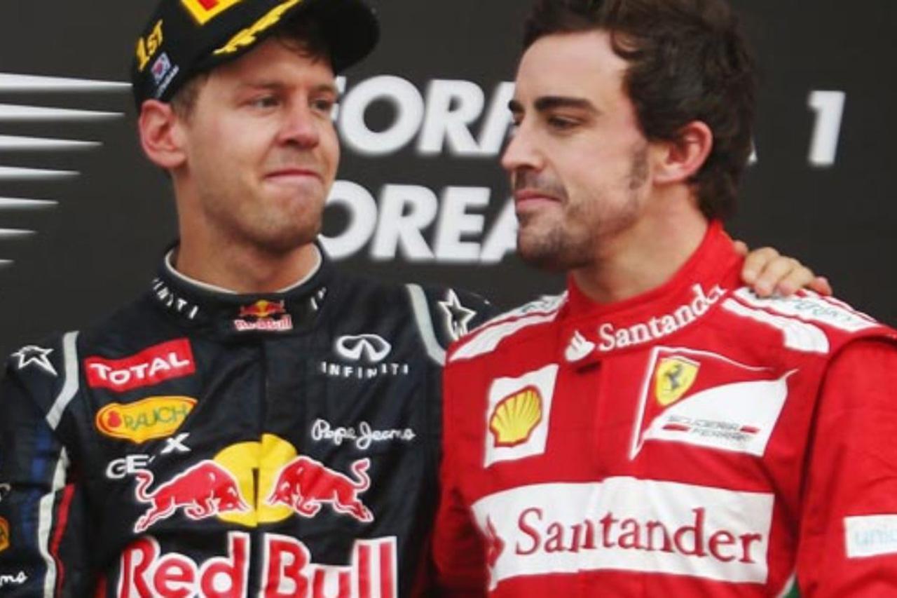 F1噂話:フェルナンド・アロンソ、ベッテルへのリベンジに燃える?