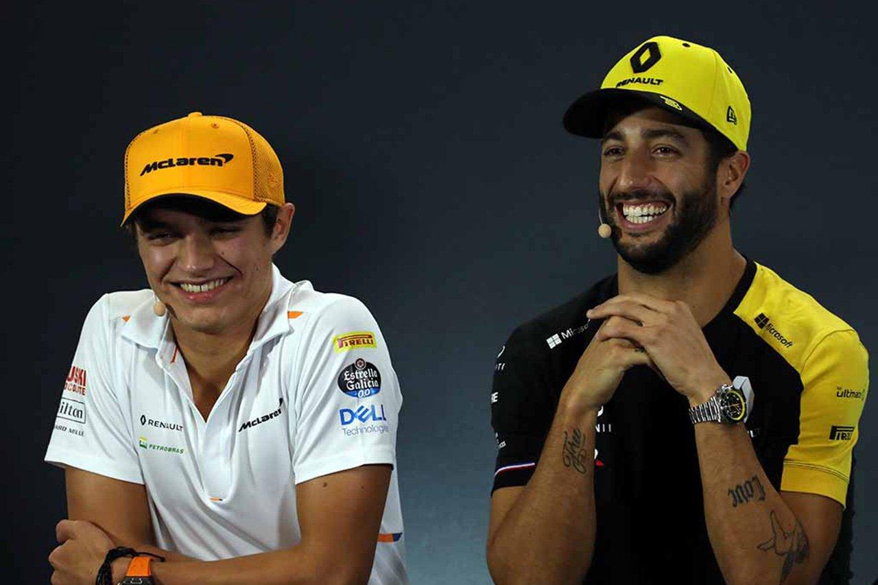 ランド・ノリス 「ダニエル・リカルドと組むのを楽しみにしている」 / マクラーレンF1