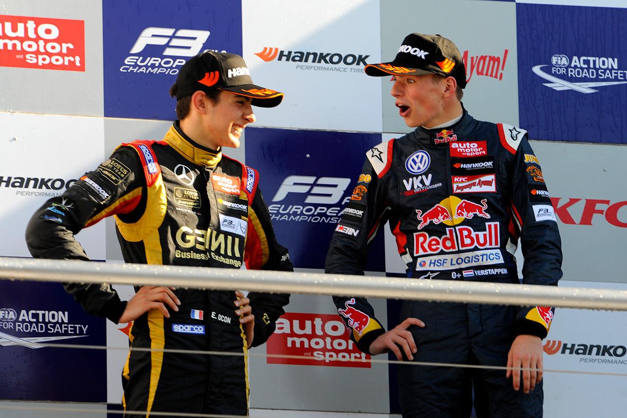 エステバン・オコン 「フェルスタッペンが先にF1に行ったのは辛かった」