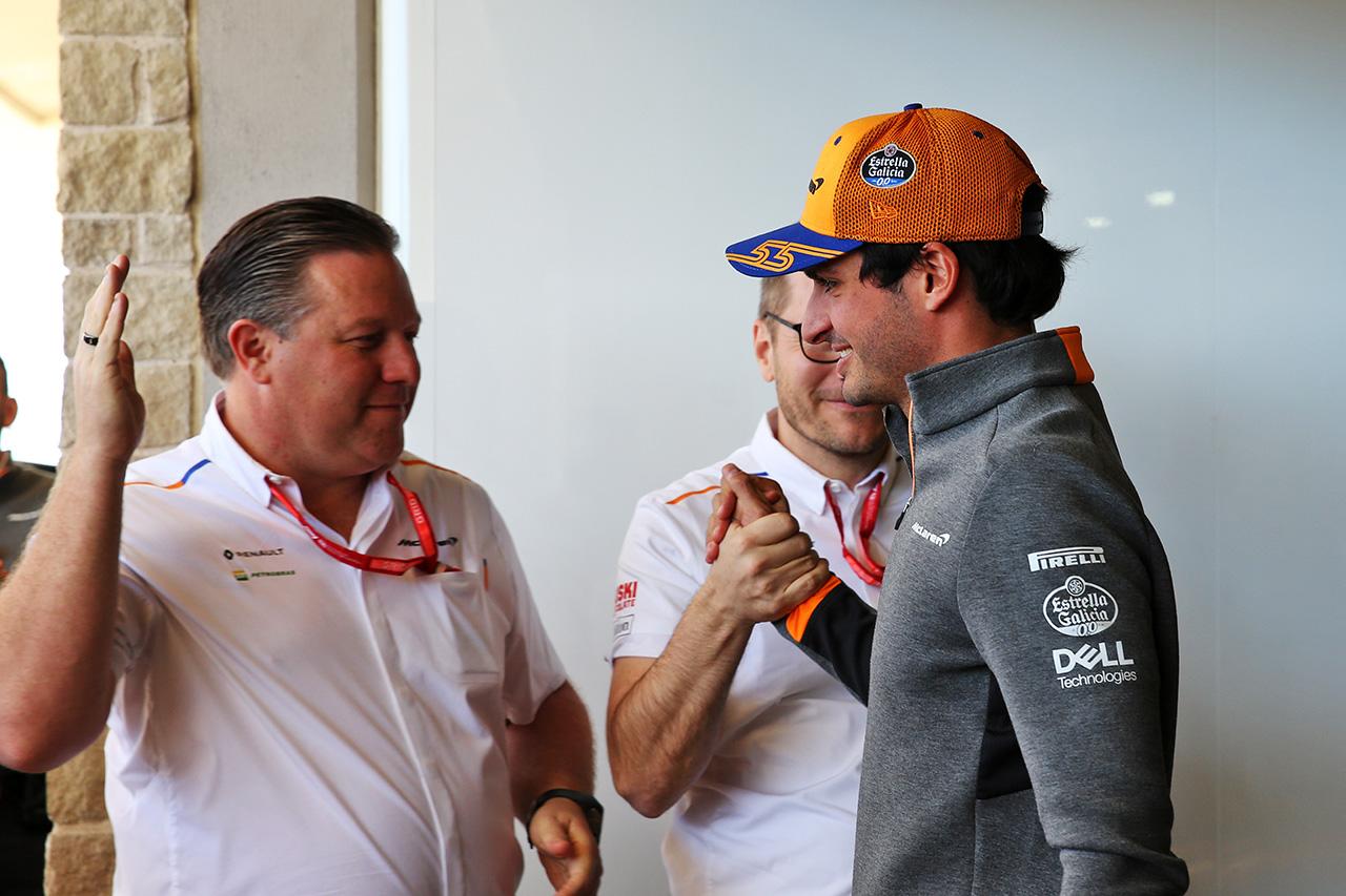 カルロス・サインツ 「マクラーレンはフェラーリ移籍を祝福してくれた」 / F1ニュース