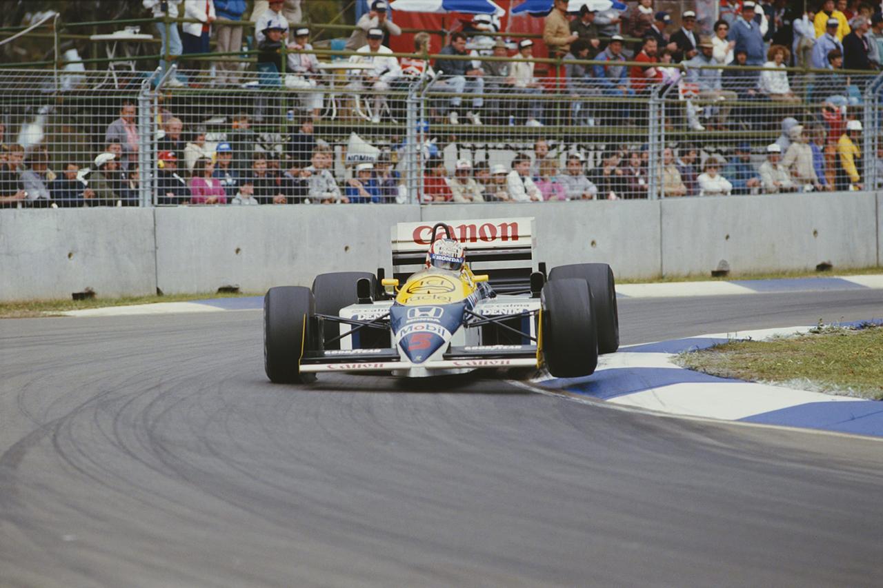 ナイジェル・マンセル vs. ネルソン・ピケ:1986年 F1オーストラリアGP(アデレード市街地サーキット)