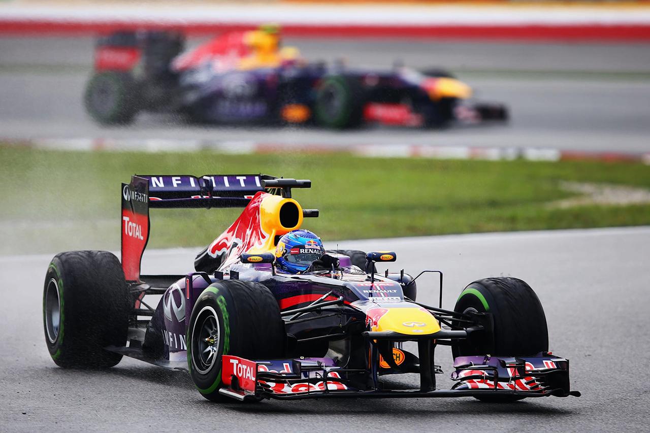 マーク・ウェバー vs. セバスチャン・ベッテル:2013年 F1マレーシアGP(セパン・インターナショナル・サーキット)