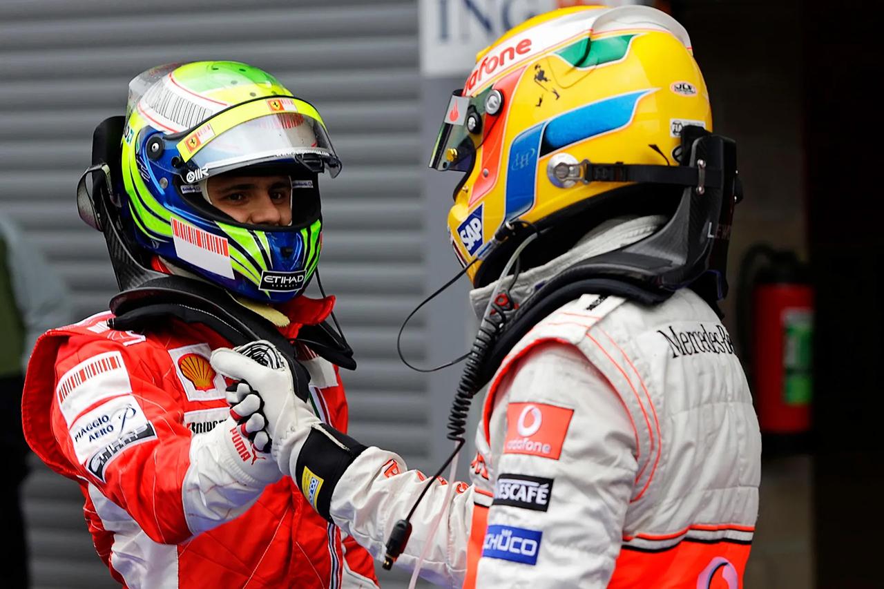 ルイス・ハミルトン vs. フェリペ・マッサ:2008年 F1ブラジルGP(アウトドローモ・ホセ・カルロス・パーチェ)