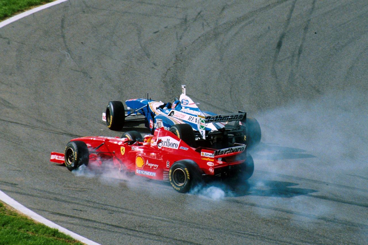 ミハエル・シューマッハ vs. ジャック・ヴィルヌーブ:1997年 F1ヨーロッパGP(ヘレス)