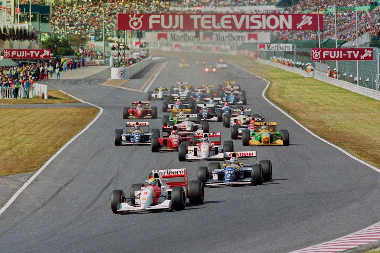 アラン・プロスト vs. アイルトン・セナ:1990年 F1日本GP(鈴鹿サーキット)