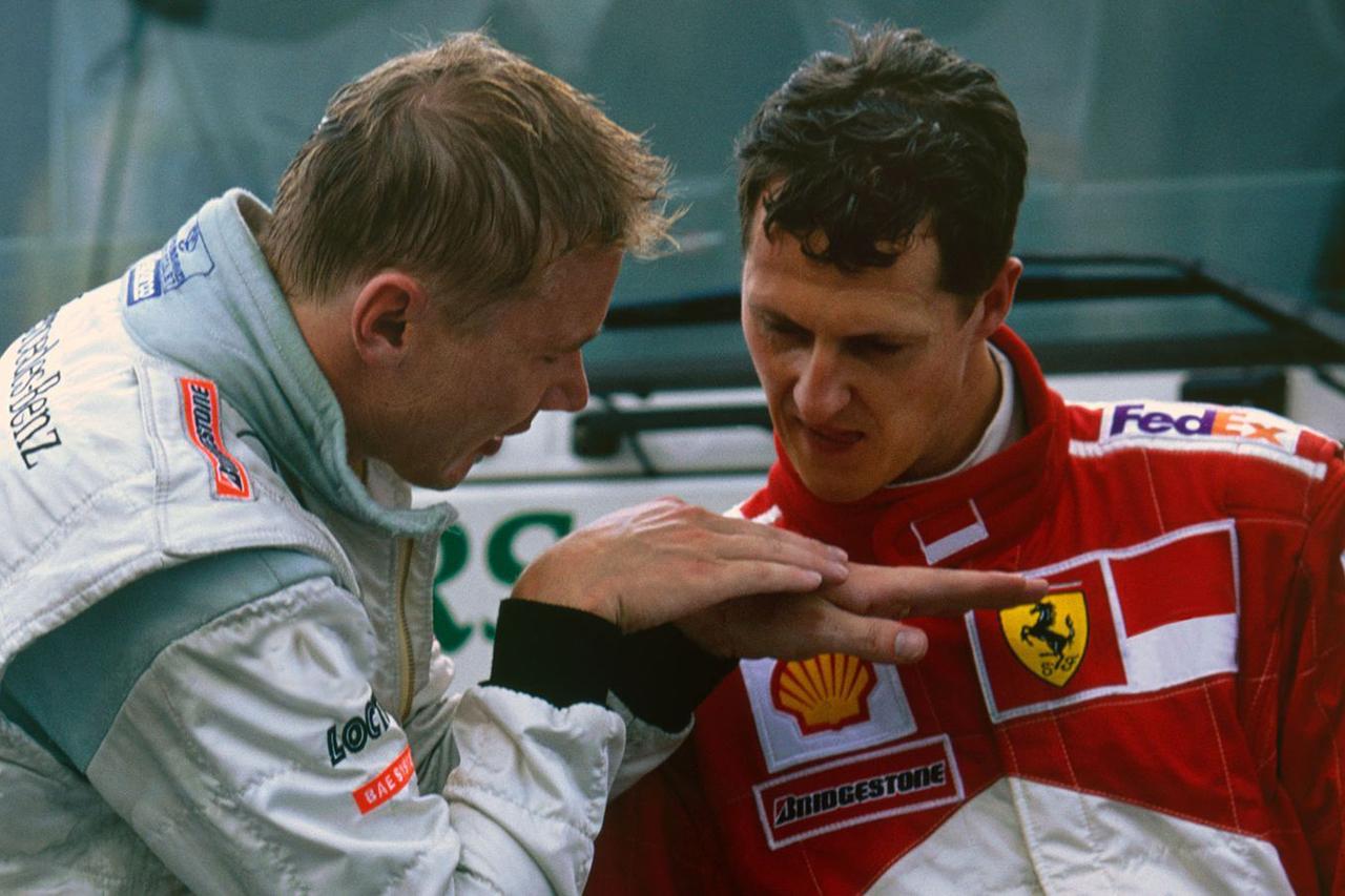 ミハエル・シューマッハ vs. ミカ・ハッキネン:2000年 F1イタリアGP(モンツァ)