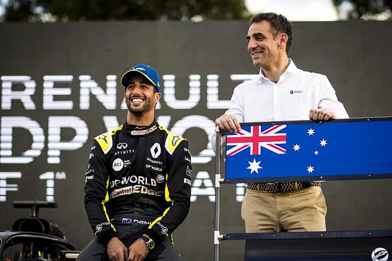 ルノーF1 「リカルドの後任は2020年シーズンが開始するまで決定しない」