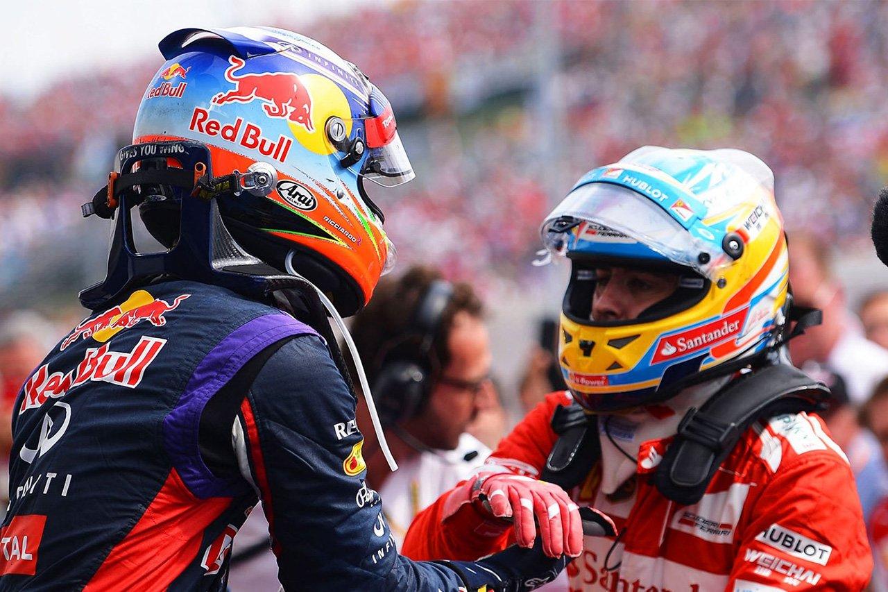 """ダニエル・リカルドがシューマッハとアロンソに""""認められた""""F1レース"""