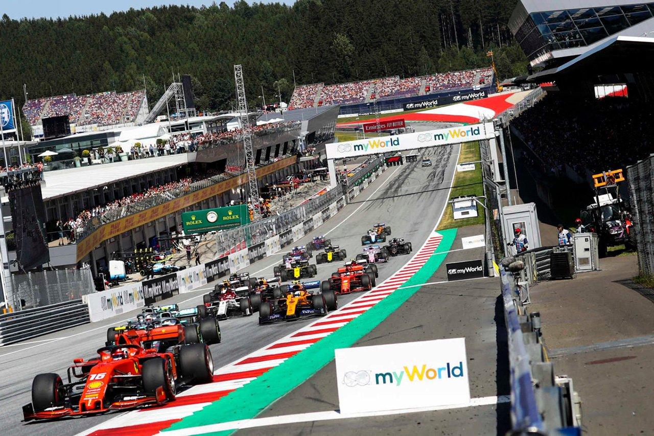 F1:2020年の序盤8戦の日程を正式決定。7月5日にオーストリアで再開