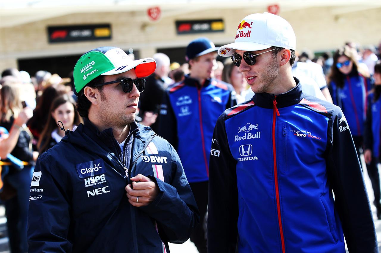 ピエール・ガスリーとセルジオ・ペレスがF1バーチャルGPに初参加