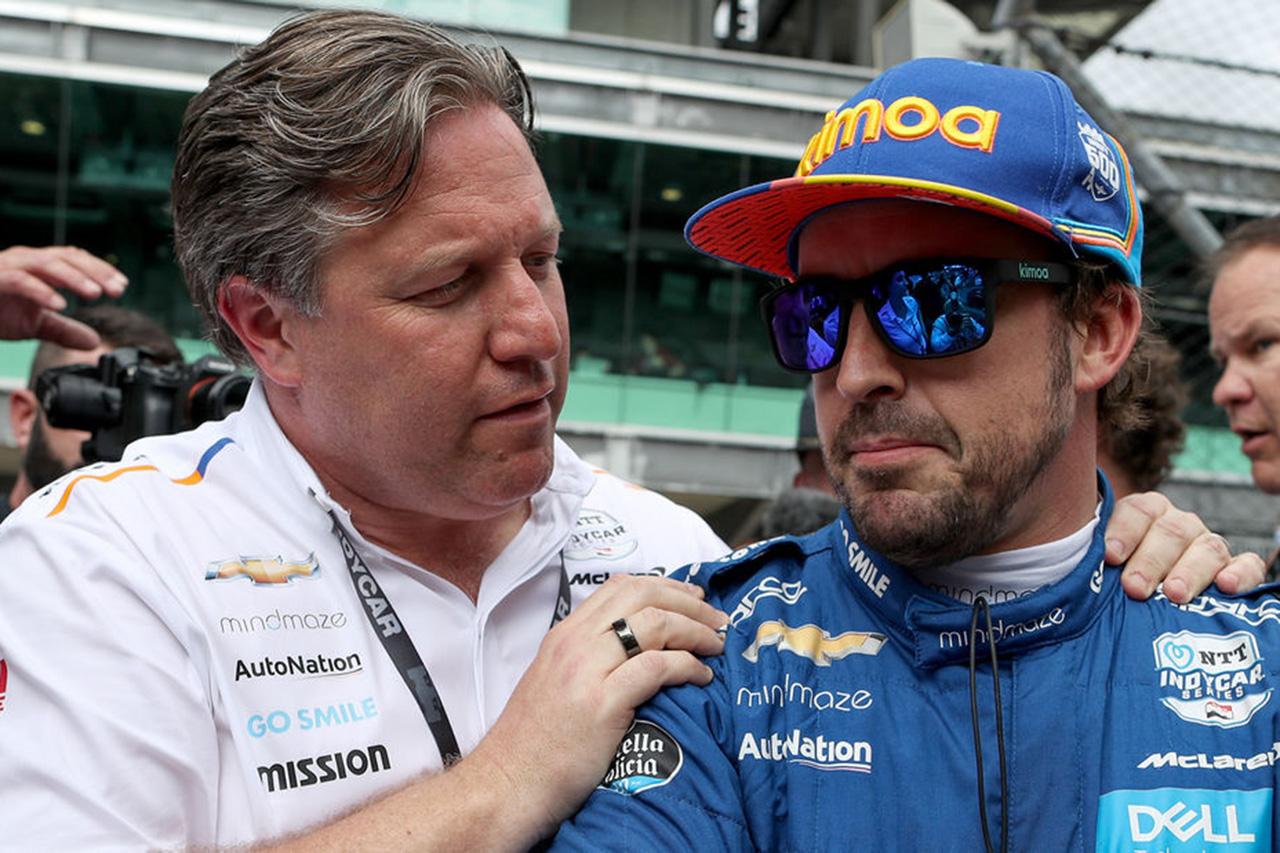 マクラーレン 「F1とインディ500の両立はアロンソだからこそ可能」