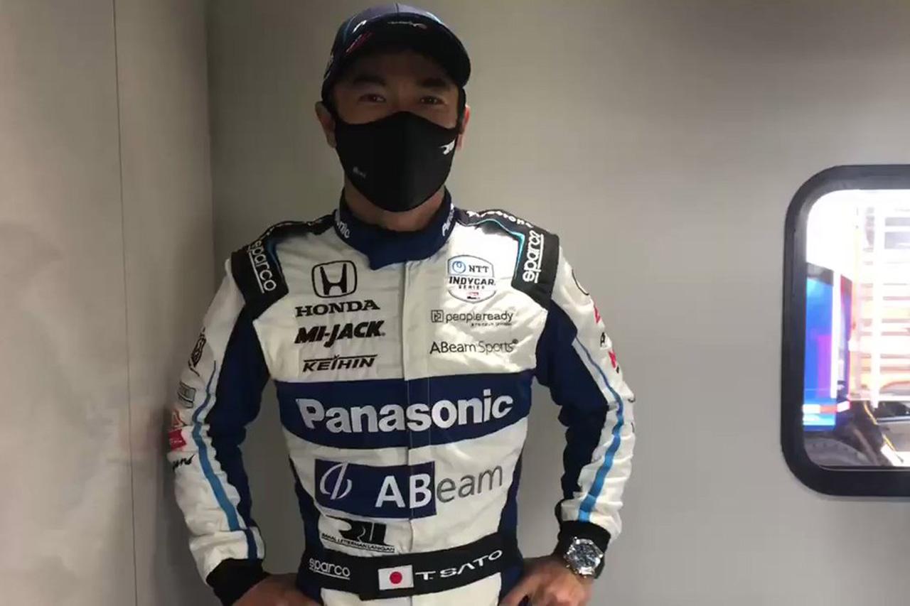 佐藤琢磨、予選でのクラッシュを回想「セッティング的に攻めすぎたかも」 / インディカー 開幕戦