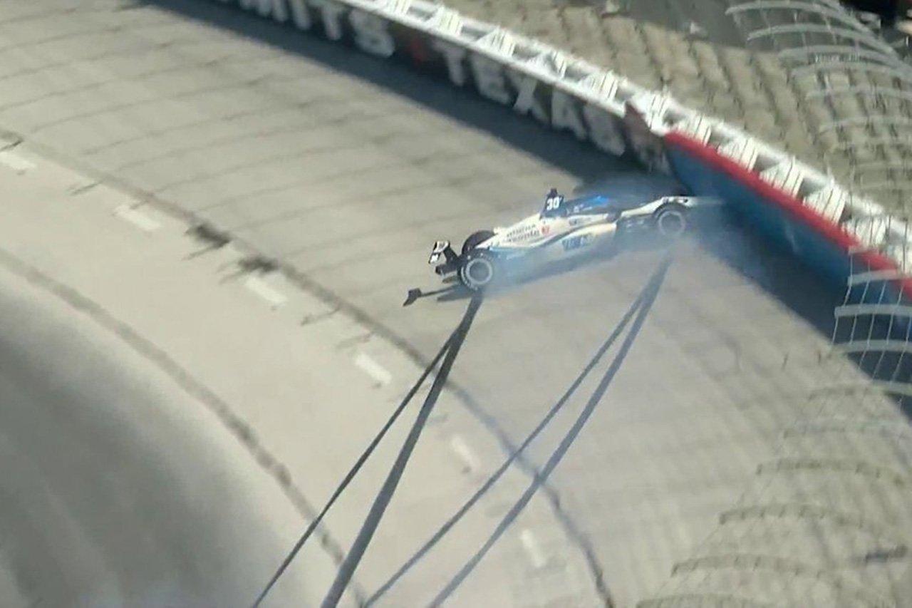 佐藤琢磨、予選でのクラッシュでマシンを準備できず開幕戦は欠場 / インディカー