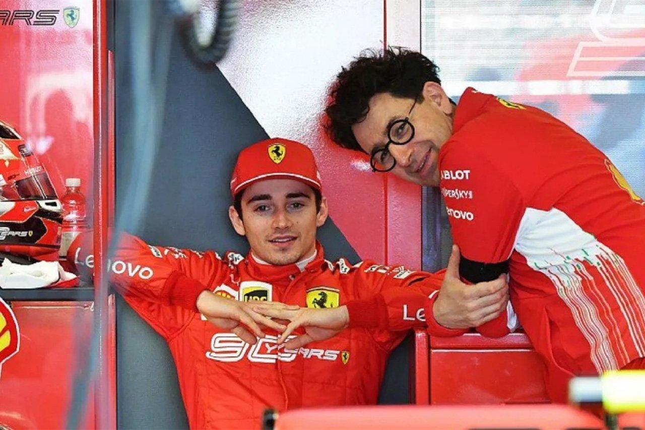フェラーリF1 「サインツ加入についてルクレールに意見を求めた」
