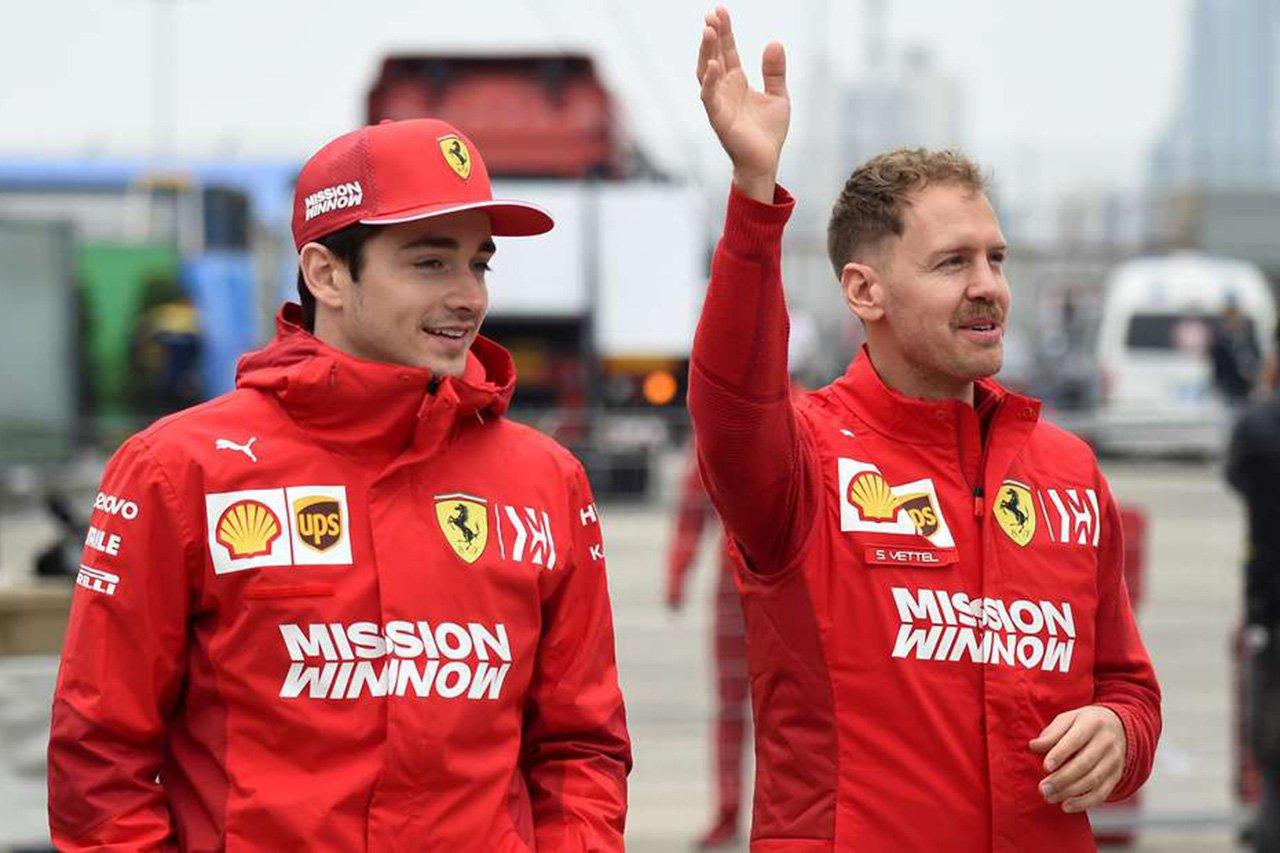 フェラーリF1、ルクレールは給与返還もベッテルは慈善団体に寄付?