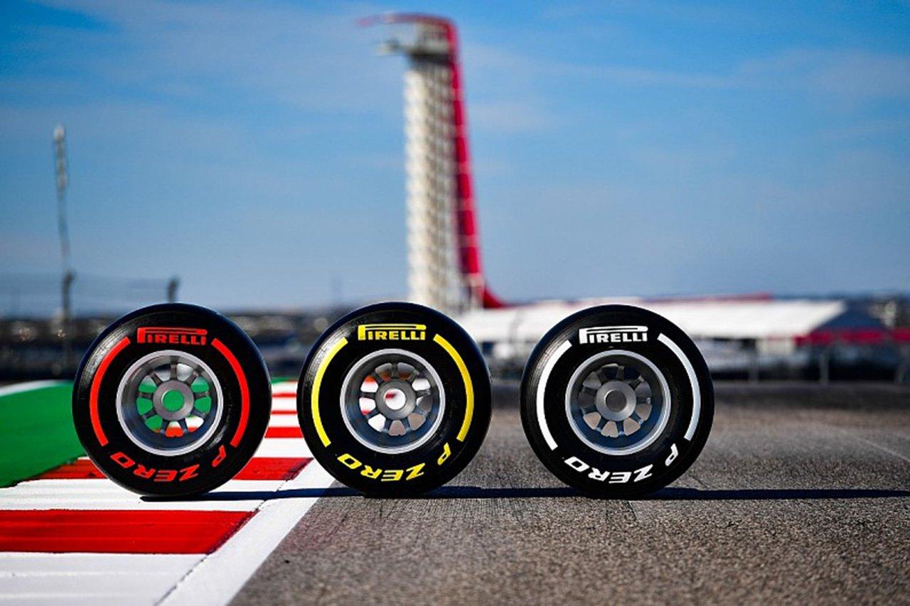 F1:ピレリ、序盤8戦のコンパウンドを発表…イギリス2連戦は異なる選択