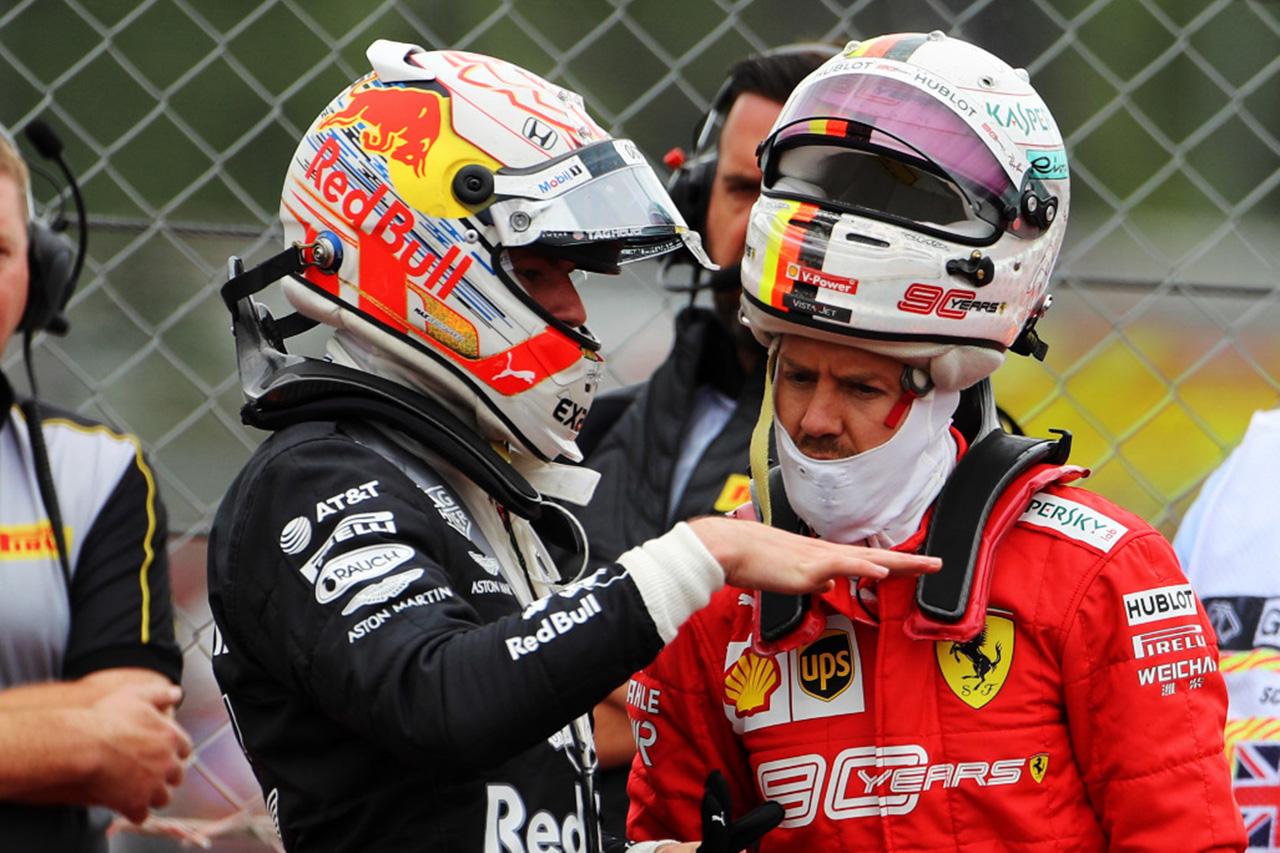 フェルスタッペン 「ベッテルはフェラーリF1に残留すると考えていた」