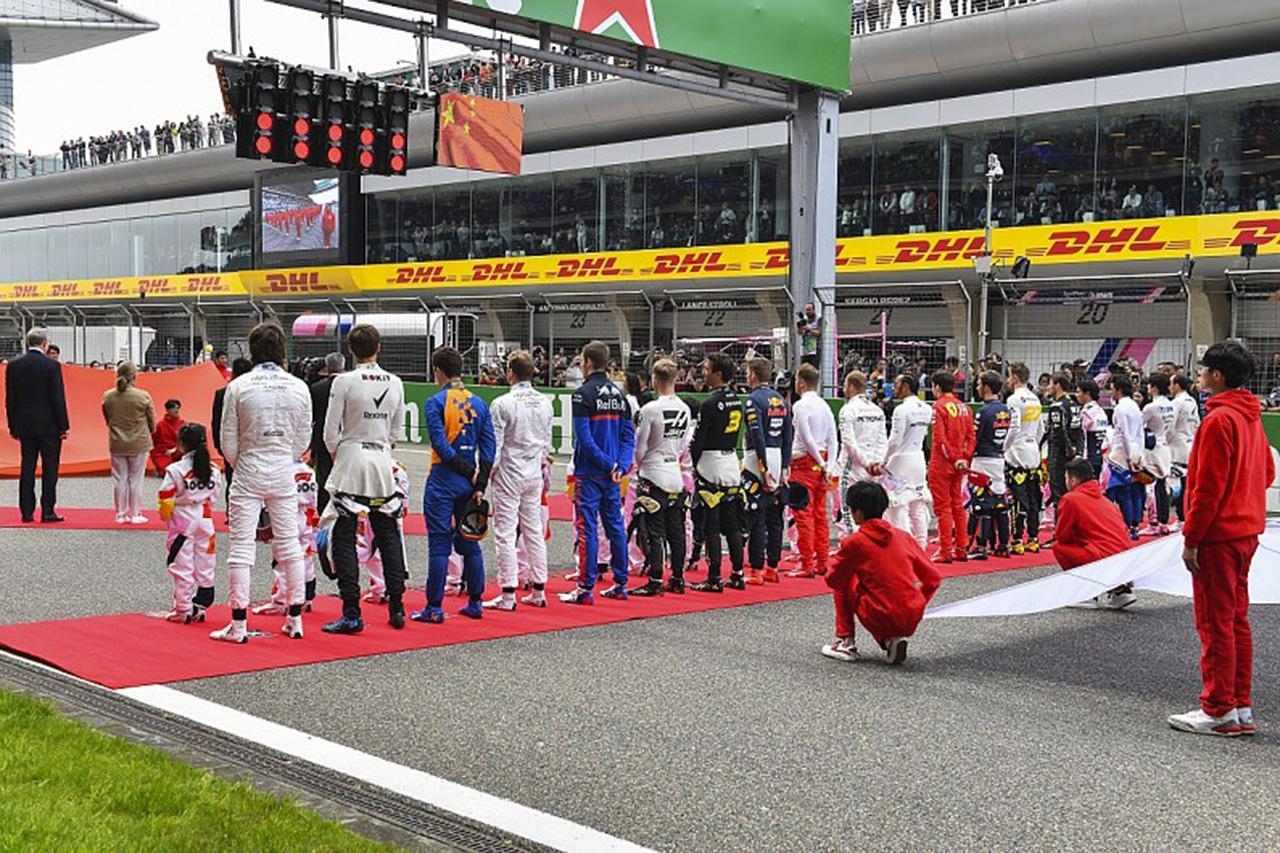 F1中国GP 「2レース開催を提案されているが決定はしていない」