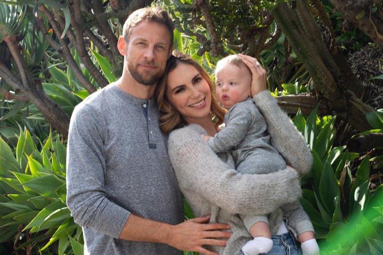 ジェンソン・バトンとブリトニー・ウォード、第2子妊娠を報告 / F1ニュース