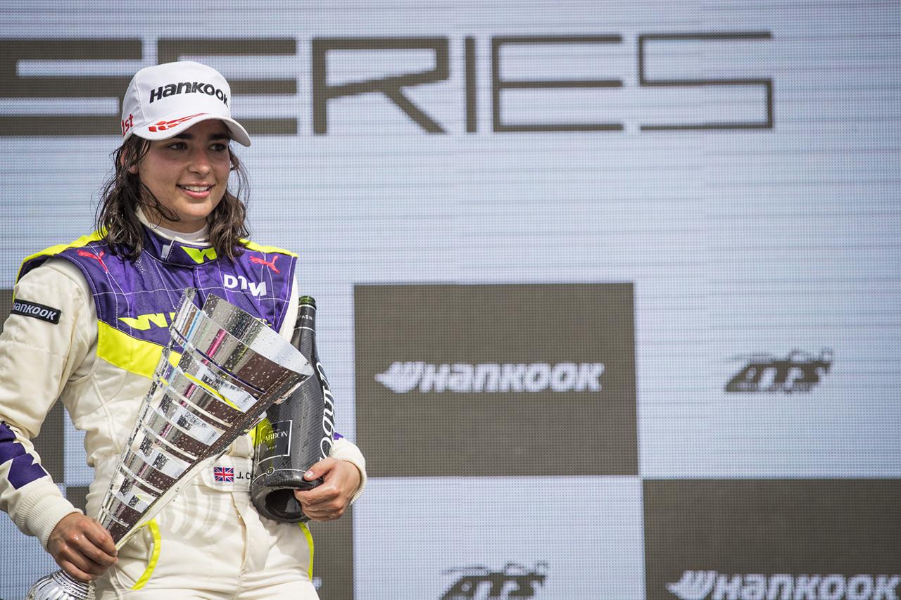 F1を目指すジェイミー・チャドウィック 長期的な財政支援を確保