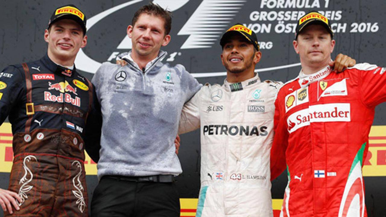2016年 F1オーストリアGP 決勝 コメント