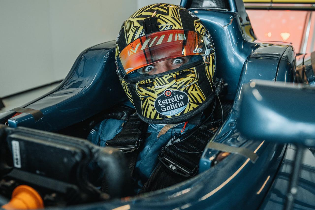 マクラーレンF1のランド・ノリス、F3マシンのテストで「身体が痛い」