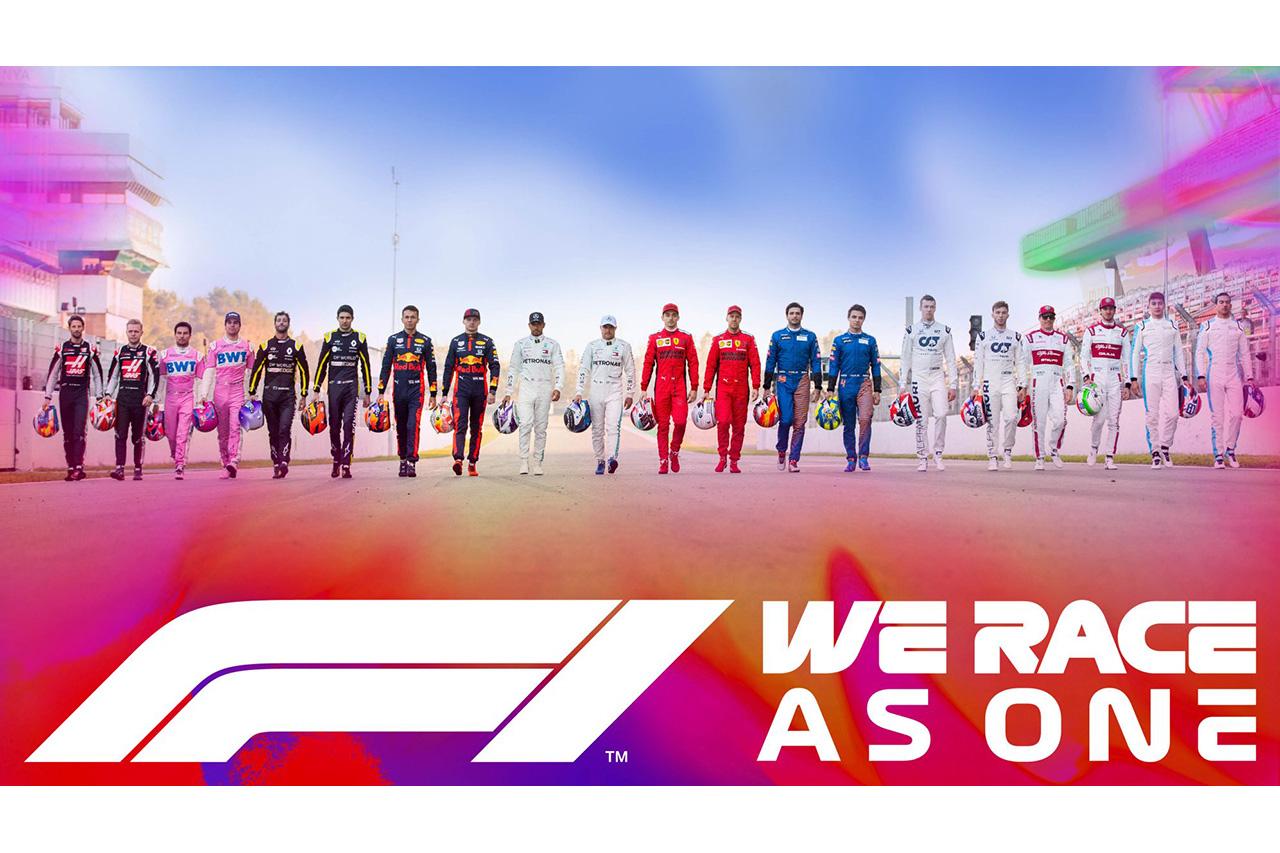 F1、新型コロナと人種差別と闘う取り組み「#WeRaceAsOne」を設立