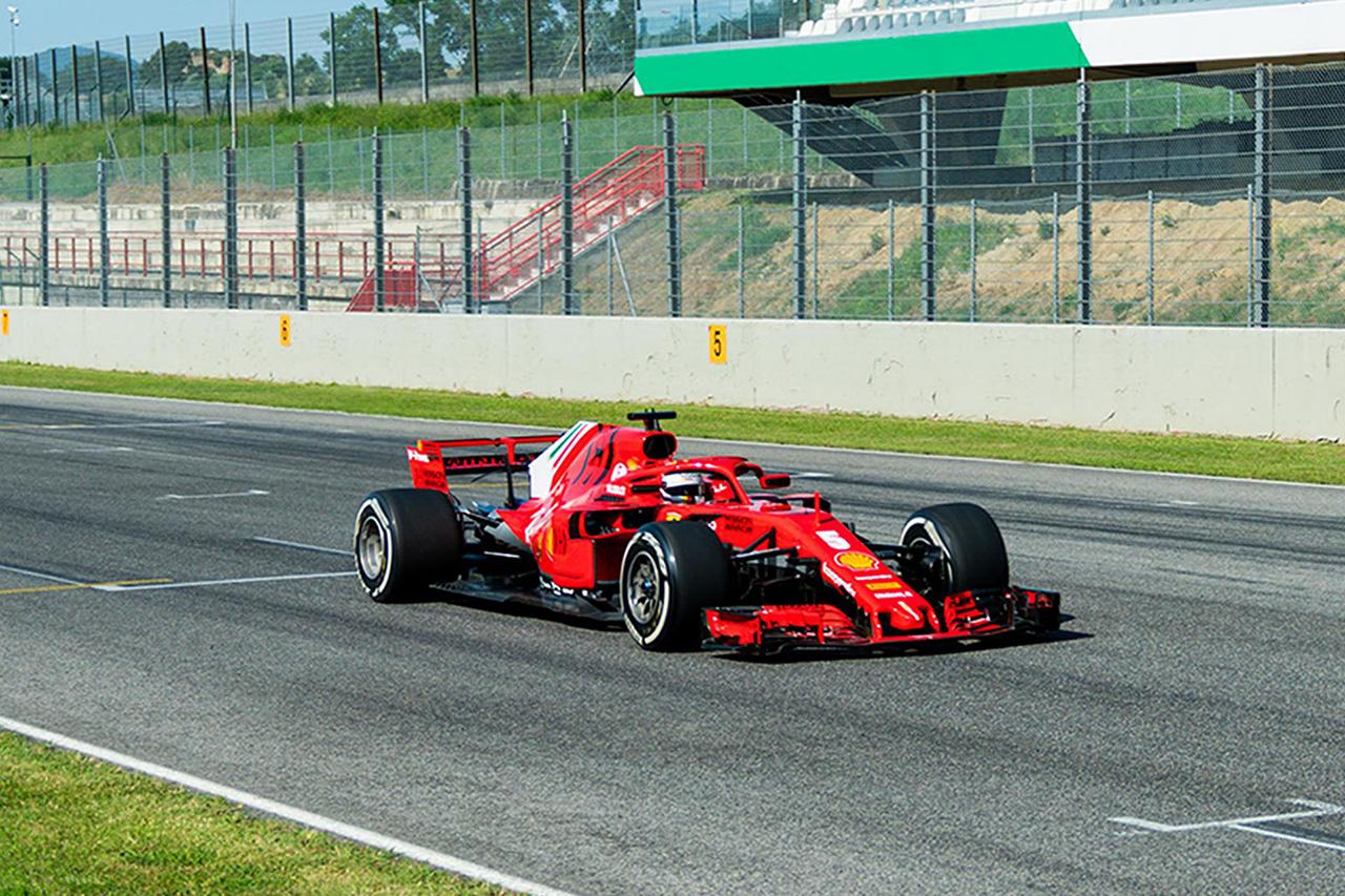 フェラーリF1、ベッテルとルクレールがムジェロでSF71Hをドライブ