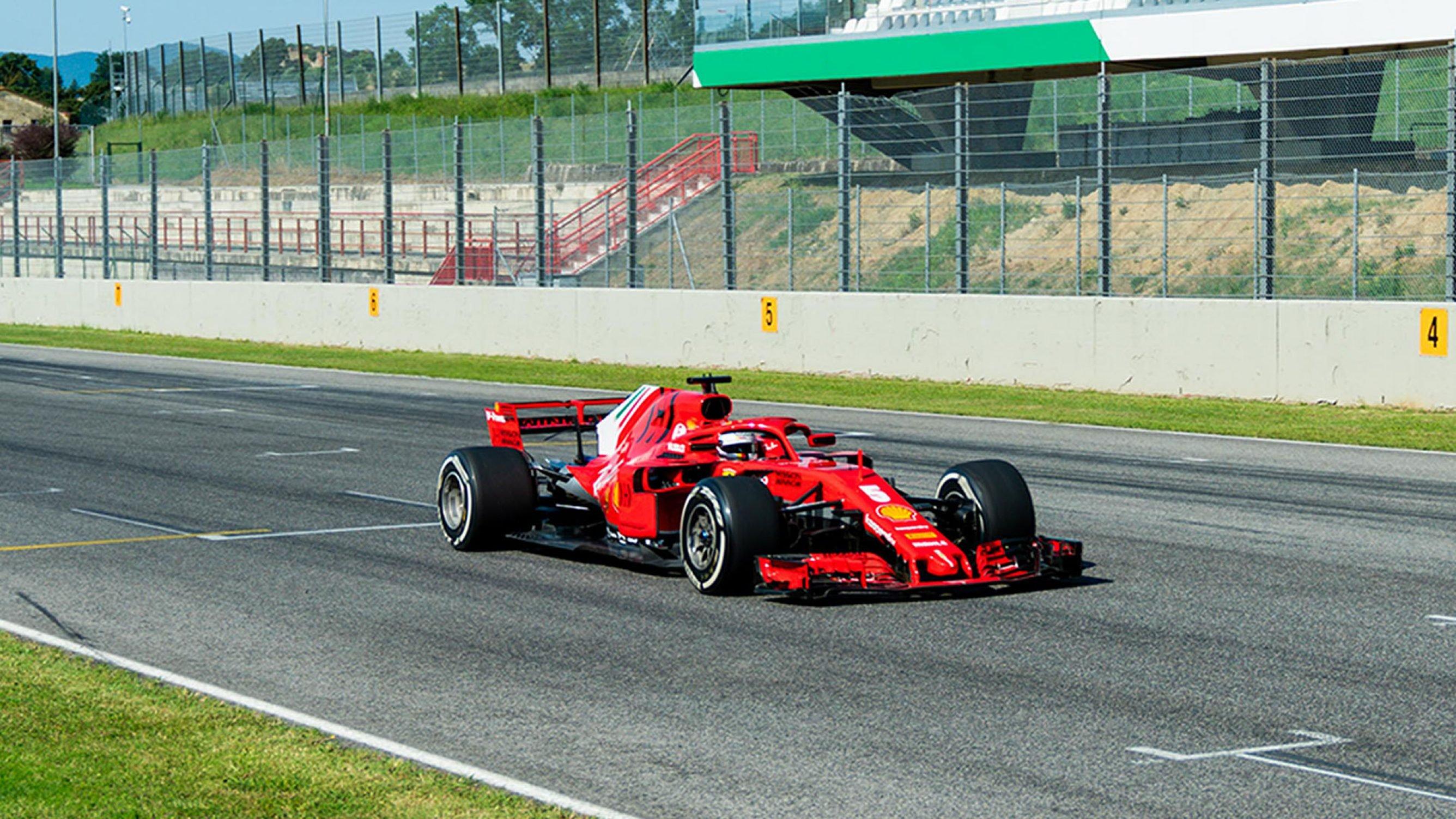 フェラーリF1 ムジェロテスト ② (2020年6月23日)