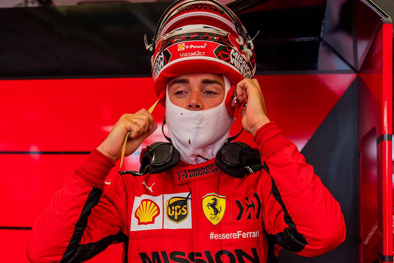 フェラーリF1 ムジェロテスト:シャルル・ルクレール