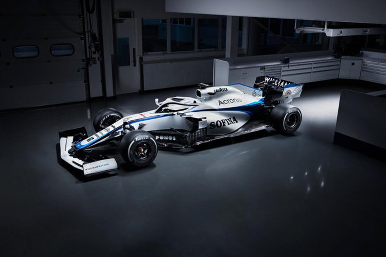 ウィリアムズF1、FW43の新カラーリングを公開…ネイビーが復活
