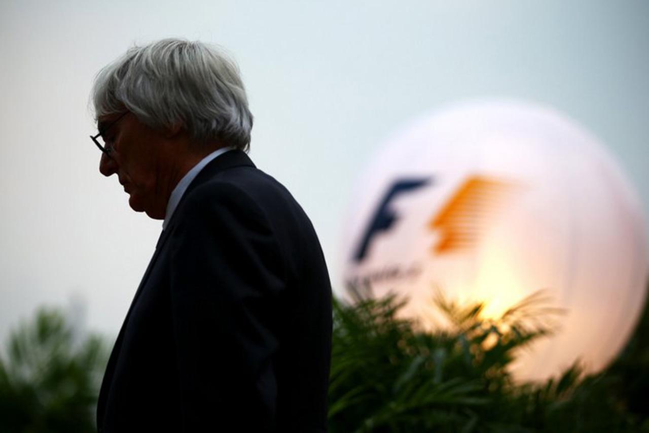 F1、人種差別的発言のバーニー・エクレストンは「完全な部外者」