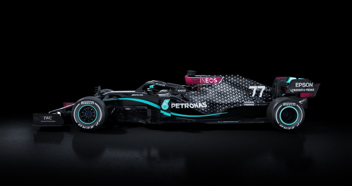 Mercedes AMG F1 W11 All Black