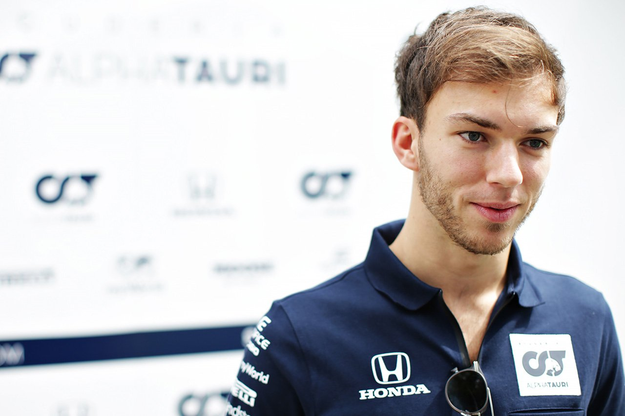 ピエール・ガスリー 「レース、競争、スピードを恋しく思っていた」 / アルファタウリ・ホンダF1 オーストリアGPプレビュー
