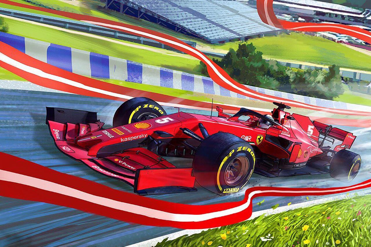 フェラーリF1:2020年 第1戦 F1オーストリアGP プレビュー