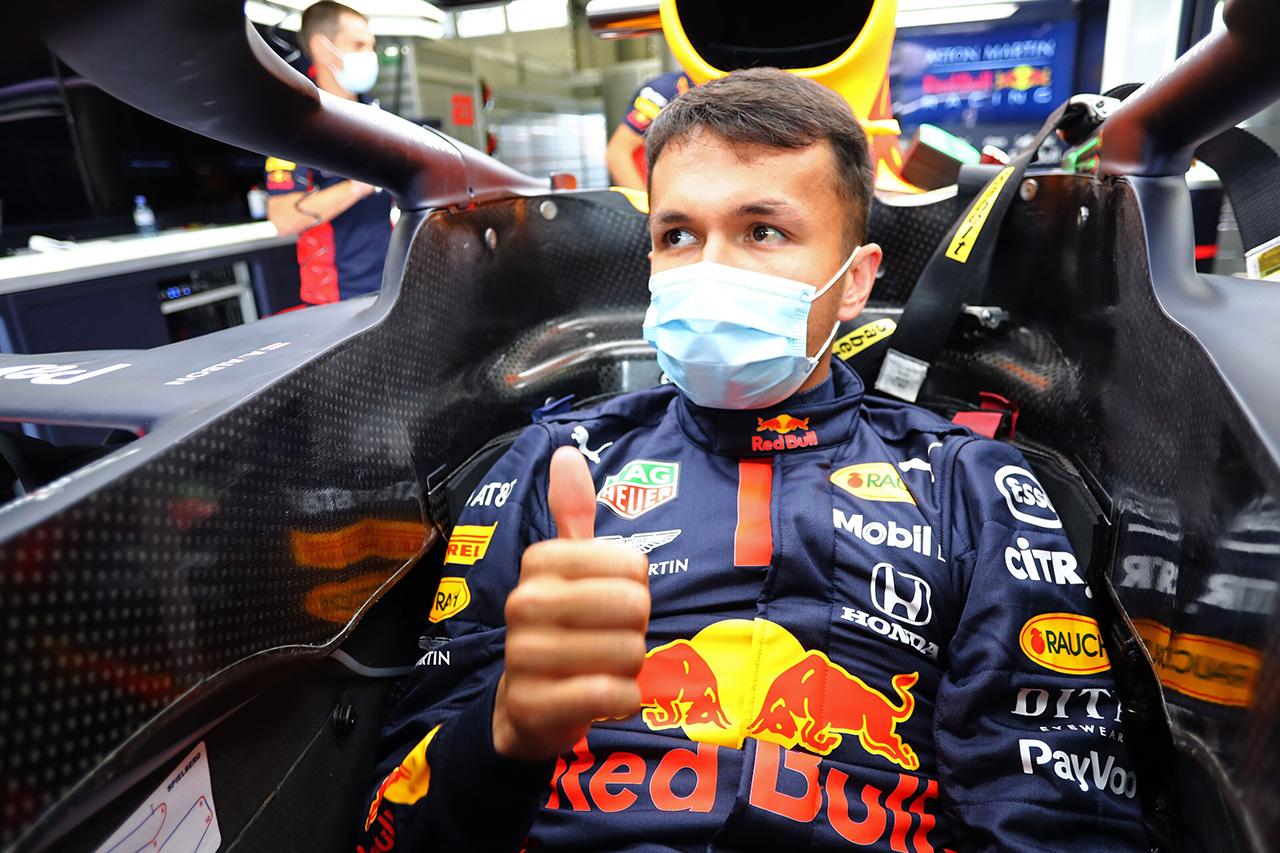 アレクサンダー・アルボン 「ドライビングもセットアップも伸びしろがある」 / レッドブル・ホンダF1 オーストリアGP初日