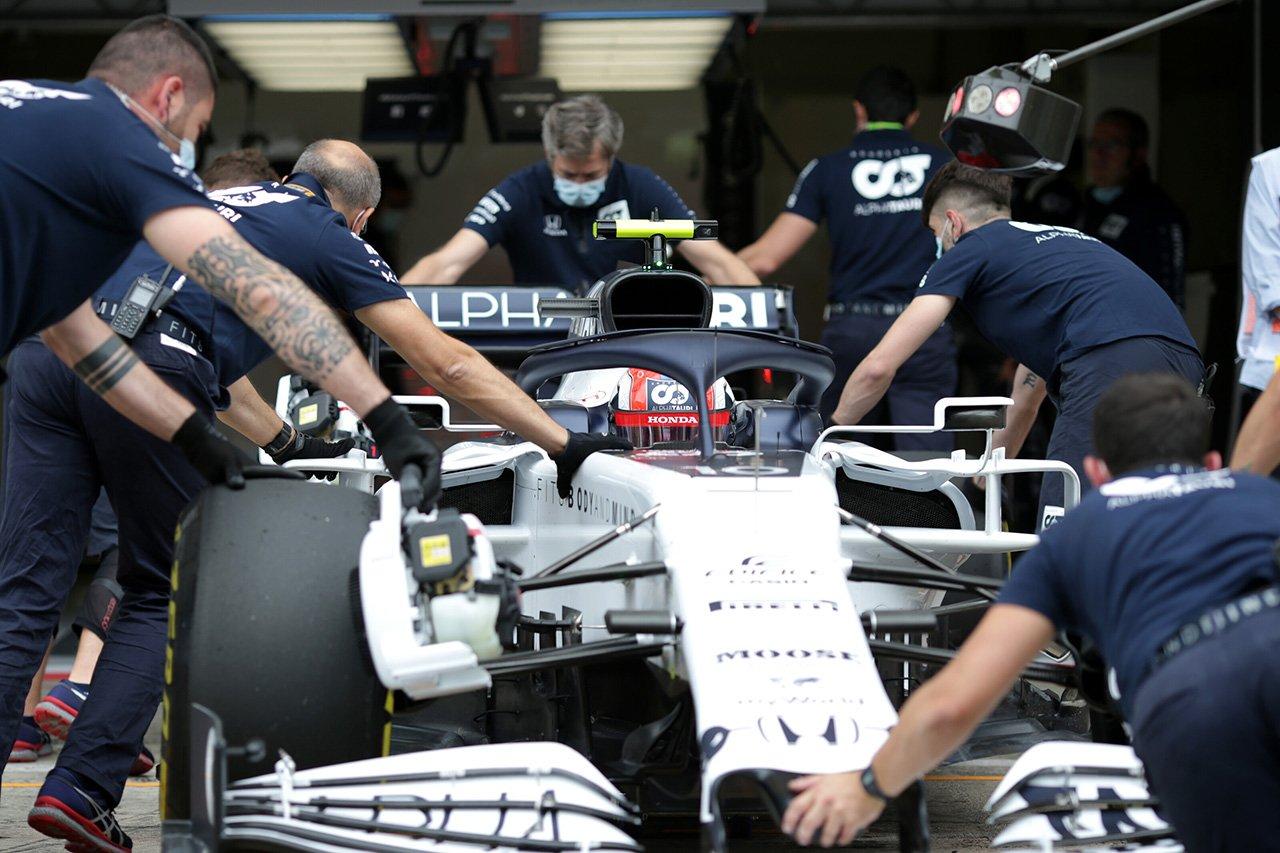 アルファタウリ・ホンダF1 「フロントエンドのグリップが不足している」 / F1オーストリアGP初日